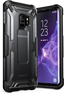 SUPCASE SUP-Galaxy-S9-Unicorn Galaxy S9 Case, Unicorn Beetle Series Premium Hybrid Protective Clear Case for Samsung Galaxy S9 2018 Release, Retail Package, Frost/Black