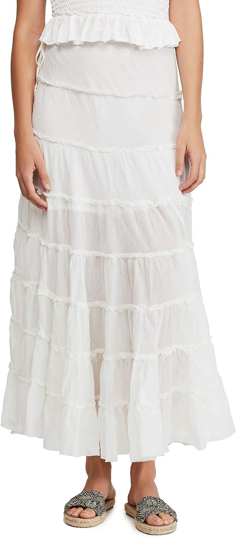 Free People Women's Max 42% OFF Stuck in A Cream Cotton Moment Puff White Ti Tulsa Mall