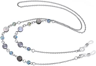 Eyeglass Chain Strap Holder Cord Fashion Eyewear Retainer Crimmy Reading Eyeglass Necklace