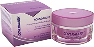 Covermark Foundation Women's #1 SPF 30 Waterproof Concealing Make-Up, 0.51 Ounce