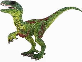 Zooawa Velociraptor Dinosaur Figure Toy - Green