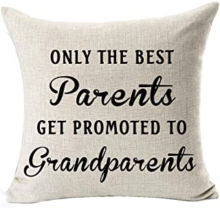 Andreannie Best Gifts for Mom Dad Only The Best Parents Get Promoted to Grandparents..