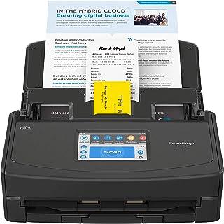 ScanSnap iX1500 Edición Negra – Escáner de Documentos para Oficina - A4, Doble Cara, Pantalla táctil ADF, Wi-Fi, USB3.1