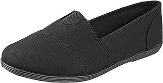 SODA Womens OBJI Slip On Flat Shoes