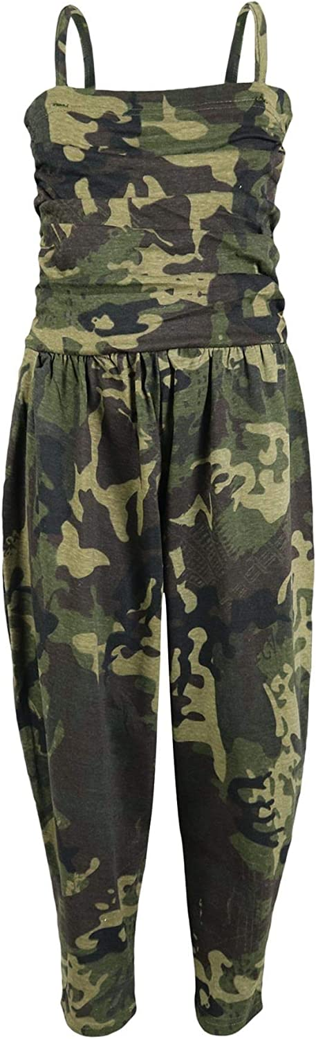 Kids Girls Jumpsuit Camouflage Green Trendy J All One in 70% OFF Outlet Fashion OFFicial store