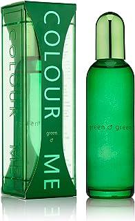 Colour Me   Green   Eau de Toilette   Fragrance Spray for Men   Oriental Fougere Scent   3 oz