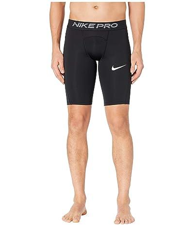 Nike Nike Pro Shorts Long (Black/White) Men