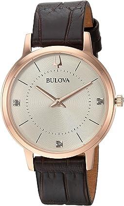 Bulova - Diamond - 97P122