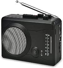 DIGITNOW USB Cassette Player Personal Audio Recorder with Speaker, Radio Recording Cassette Tape to Digital MP3 Converter