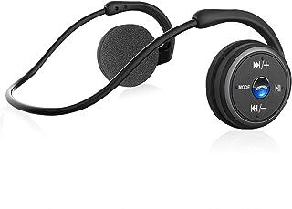 comprar comparacion Auriculares Bluetooth 4.1, 3-en 1 Estéreo Auricular Deportivo, Auriculares Inalámbricos con Micrófono, Soporte Tarjeta TF ...
