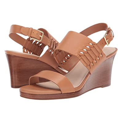 Cole Haan 80 mm Paiva Grand Wedge Sandal (Pecan Leather) Women