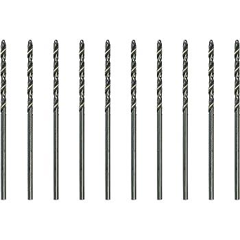 Jewelers Supermarket 10 Pack High Speed Steel Twist Drill #60, 0.040 inch diam.