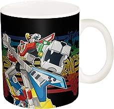 Zak Designs Super Hero Voltron Ceramic Coffee Cup, 11 oz