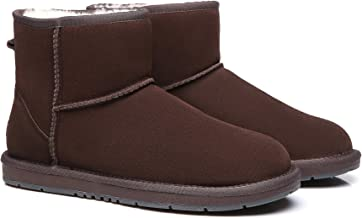 UGG Ankle Boots Australian Wool Classic Mini Suede Women's Men's Mid Calf Winter Shoes Snow Boot