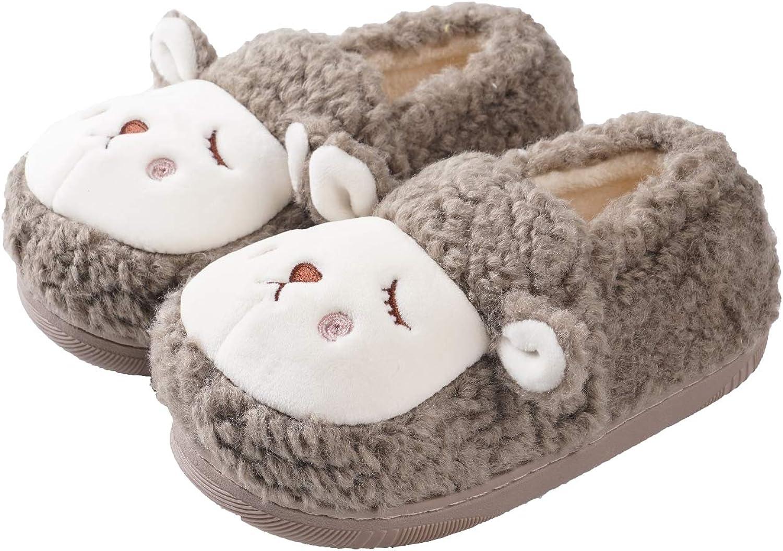 GaraTia Kids Toddlers Luxury goods Cute Panda Slippers Dog Warm Winter House Year-end gift