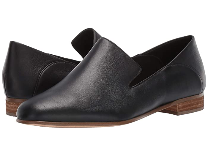 Retro Vintage Flats and Low Heel Shoes Clarks Pure Viola Black Leather Womens  Shoes $109.95 AT vintagedancer.com