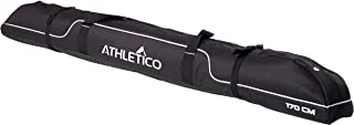 Athletico Diamond Trail Padded Ski Bag - Single Ski Travel Bag to Transport Skis