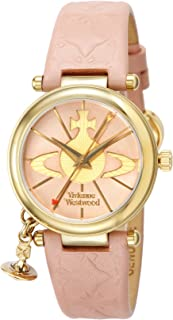 [ヴィヴィアン・ウエストウッド]VivienneWestwood 腕時計 オーブⅡ ピンク文字盤 カーフ革 VV006PKPK レディース 【並行輸入品】