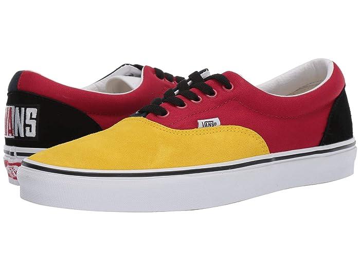 Mens Retro Shoes | Vintage Shoes & Boots Vans Eratm OTW Rally Vibrant YellowTrue White Skate Shoes $38.88 AT vintagedancer.com