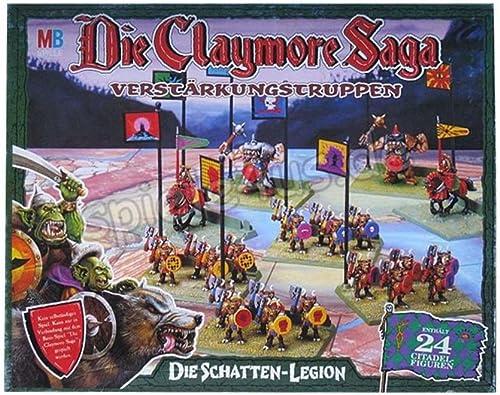 MB SPIELE 0406700 - Die Claymore Saga   Die Schatten - Legion
