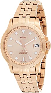 Fossil WOMENS FB 01 STAINLESS STEEL WATCH ES4748, ROSE GOLD