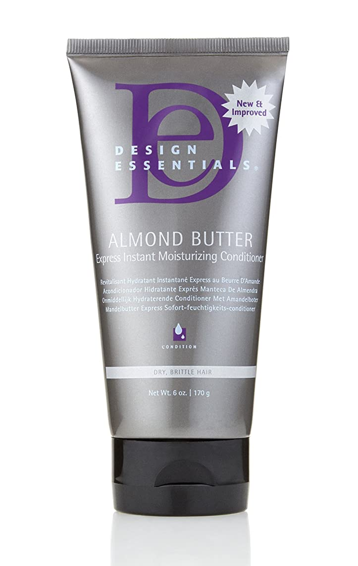 利用可能大宇宙欠乏Design Essentials Almond Butter Express Instant Moisturizing Conditioner - 6oz.