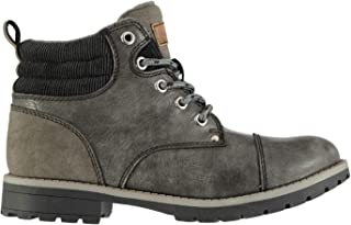 Soviet Kids Chester Childs Boots Rugged Zip Padded Ankle Collar Distressed Tonal