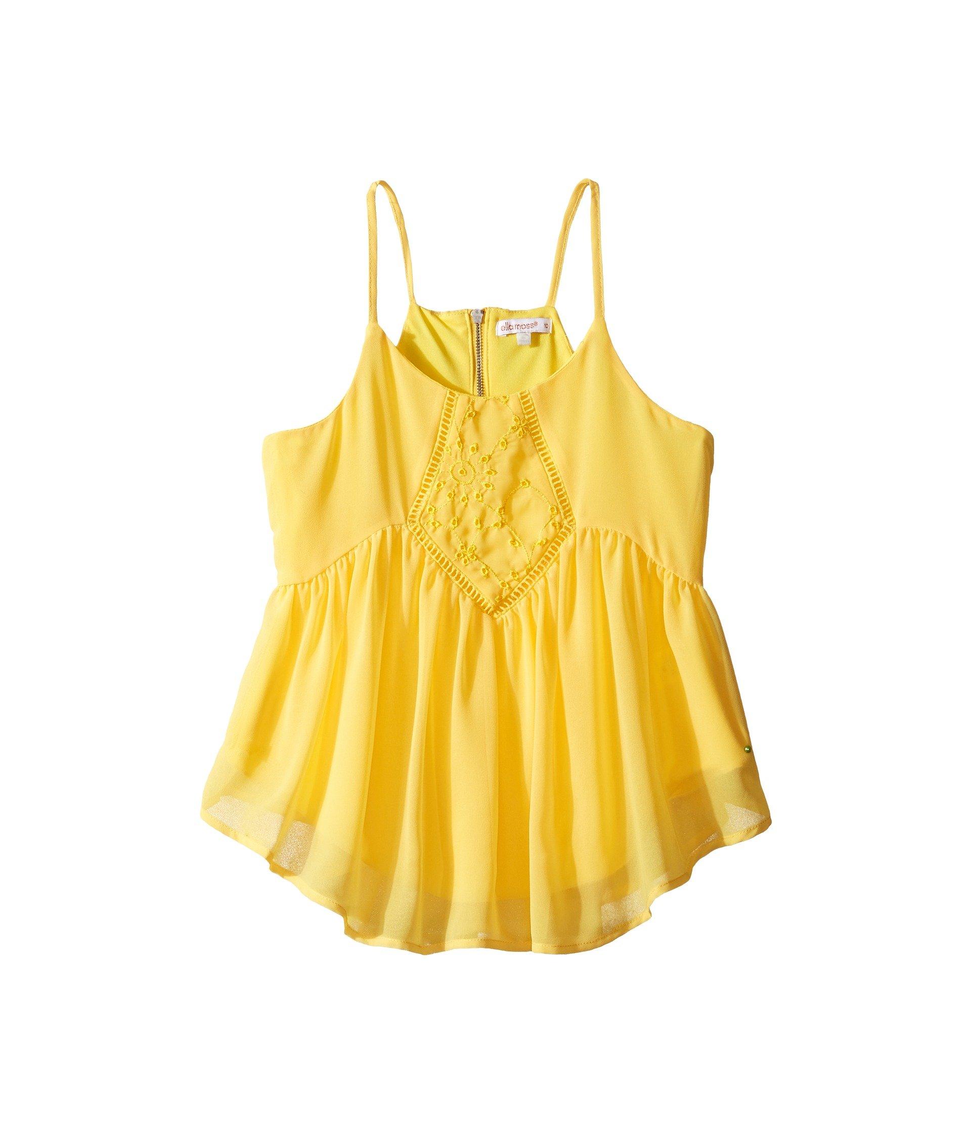 Blusa para Niña Ella Moss Girl Daniella Baby Doll Top (Big Kids)  + Ella Moss en VeoyCompro.net