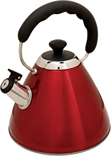 Mr. Coffee Hartleton Tea Kettle, 2-Quart, Red