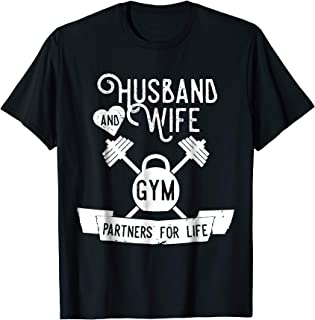 Fitness Couple Tee shirts - Matching Couples Workout Outfits