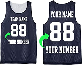 Personalize Your Own Team Basketball Jersey with Your Custom Name and Number