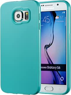Galaxy S6 Turquoise Case, technext020 Galaxy S6 Case Silicone Protective Back Cover Slim Fit Samsung Galaxy S6 Bumper