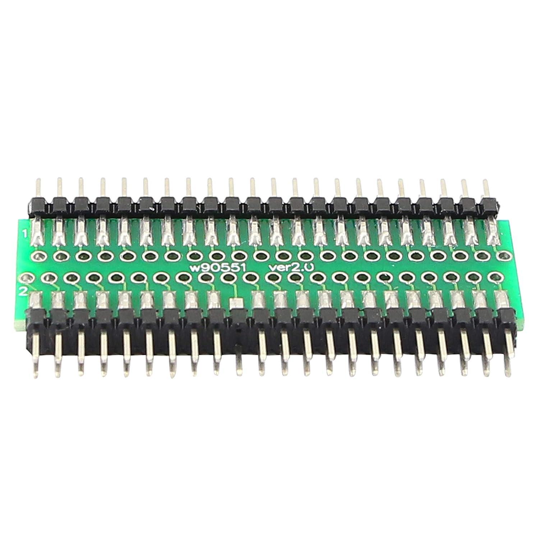 PNGKNYOCN IDE Adaptador de disco duro macho a macho de 44 pines, conector de disco duro macho a macho de 2,5 pulgadas, adaptador de unidad electrónica IDE para máquinas POS