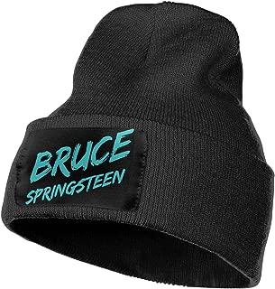 Bruce Springsteen E Street Band Warm Knit Cuff Beanie Cap Daily Beanie Hat for Men