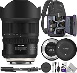 Tamron SP 15-30mm f/2.8 Di VC USD G2 Lens for Canon EF + Tamron Tap-in Console with Altura Photo Essential Accessory and Travel Bundle
