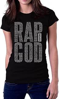 Eminem Rap God Lyrics Logo Women's T-Shirt