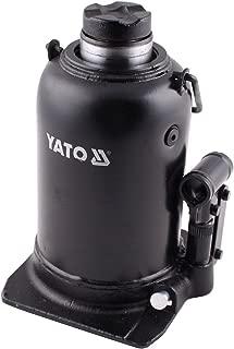 YATO YT-1713-Cric hydraulique 10t piston en deux /étapes LOW PROFILE