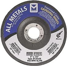 "Mercer Industries 623510 27 型全金属磨牙轮,4-1/2 x 1/4 x 7/8 单磨皮,25 包 5"" x 1/4"" x 7/8"" 623530.0"
