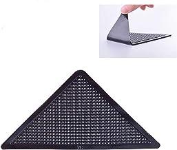 Anti Curling Pad,Non-Slip Washable Gripper Carpet Corner Protectors for Tile Floors Carpet,110x110x155mm