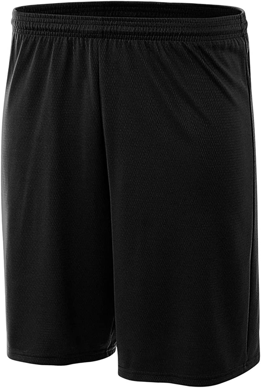 A4 Boy's Cooling Performance Power Mesh Practice Short