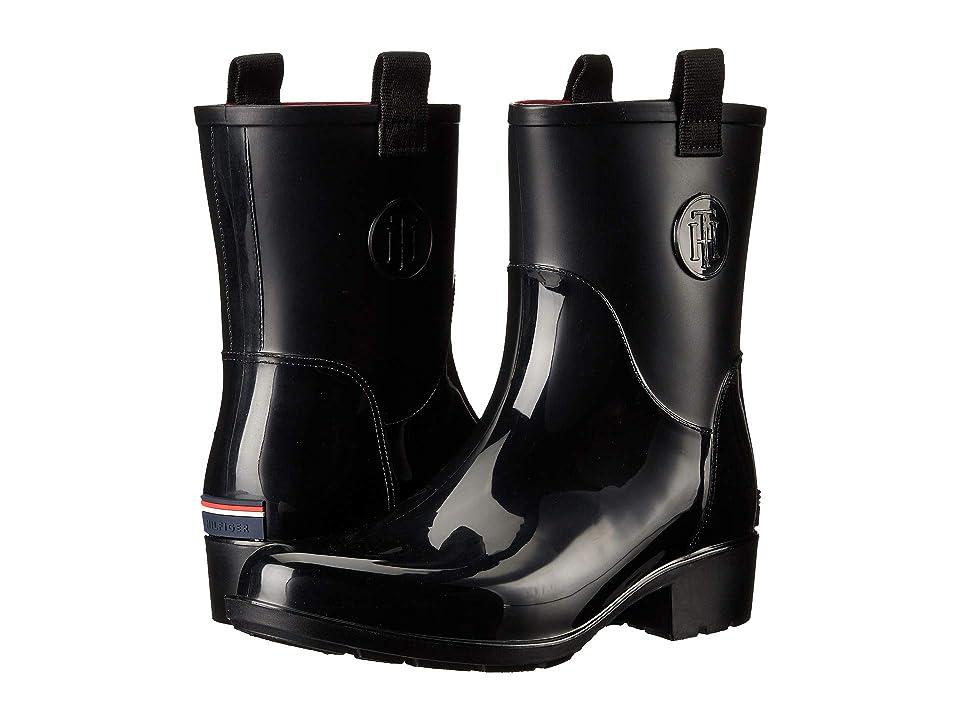 3c1b8e9c73f91d Tommy Hilfiger Khristie (Black) Women s Shoes