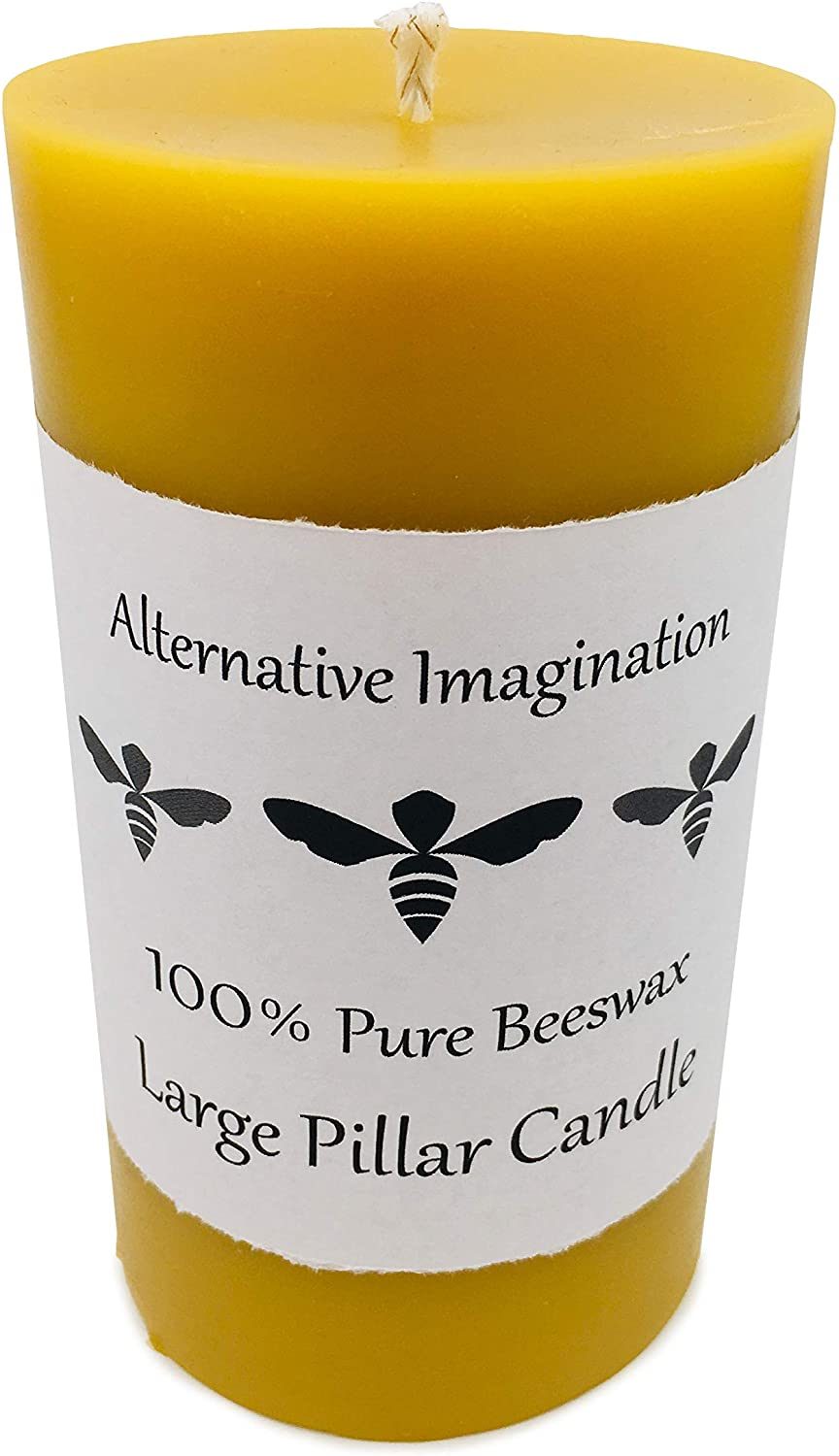 Alternative Imagination 100% Pure Pillar Candle Large Purchase Beeswax Popular shop is the lowest price challenge