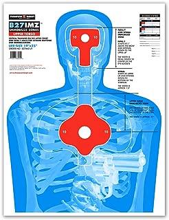 B27-IMZ Human Silhouette Paper Shooting Targets