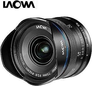 Laowa VE7520MFTSTBLK 7.5-mm Lens for Micro 4/3 Cameras (16.9 MP, HD 720 P), Black