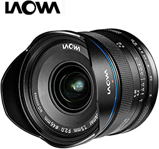 laowa ve7520mftstblk – 7.5 mm Lens for Micro 4/3 Cameras (16.9 MP, HD 720p) Black