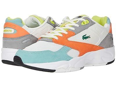 Lacoste Storm 96 Lo 0120 2 SFA (Orange/Light Green) Women