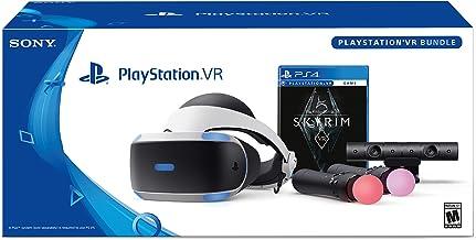 Ps4 Vr Playstation Kit Bundle Realidade Virtual Jogo Skyrim + Bolsa Personalizada