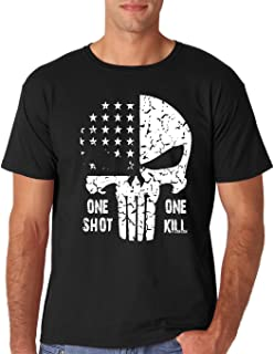 One Shot One Kill - American Punisher Sniper Premium Men's T-Shirt