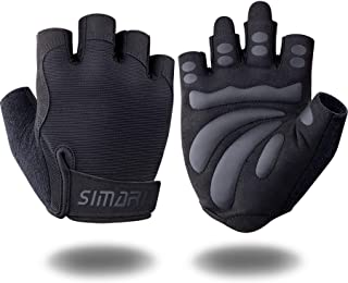 SIMARI Workout Gloves Weight Lifting Gym Gloves with...