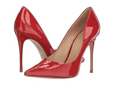 Massimo Matteo Pointy Toe Pump 17 (Rojo Patent) Women